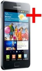 Samsung Galaxy S2 Plus + foto oficial