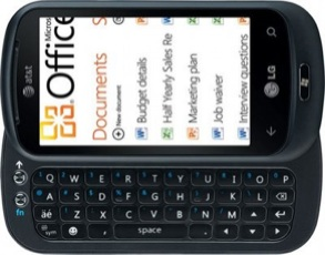 LG Optimus 7 foto
