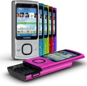 fotografia Nokia 6700 slide