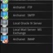 aplicacion para gestionar servidor AServer Up