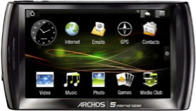 Archos 5 Internet Tablet con Android