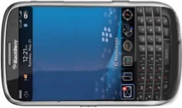 BlackBerry 9900 tactil