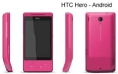 HTC Hero con Android