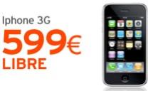 iPhone 3G con Simyo, para comprar libre