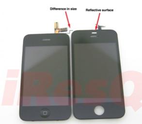 iPhone 4G rumor partes