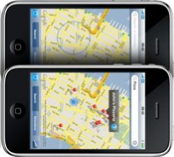 GPS del nuevo iPhone 3G