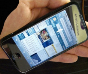 iPhone 3GS 2009 IU interfaz usuario
