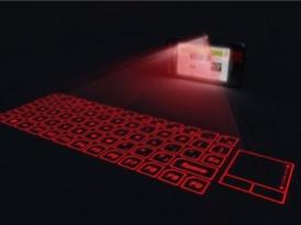 LG-LH2300 telefono internet movil tactil con teclado virtual proyectado