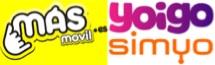 MASMovil, Simyo, Yoigo, comparativa de tarifas de llamadas e internet