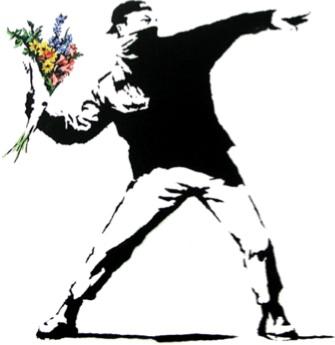 Misión de paz - no a la violencia