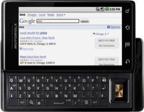 Motorola Milestone o Droid