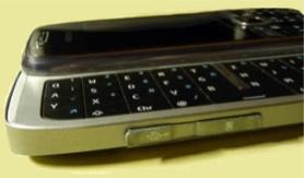 Nokia E75 foto lateral
