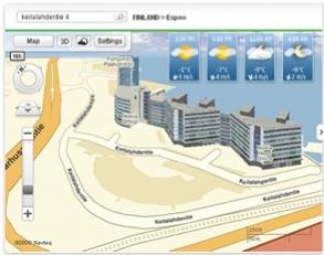 Sistema de Navegación GPS gratis para movil Nokia y OVI Mapas