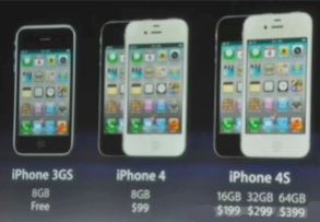 Precio iPhone 4S Apple, novedades