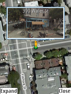 Street View movil para Google Maps para moviles