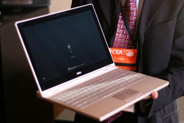 Dell Adamo el portátil ultra delgado