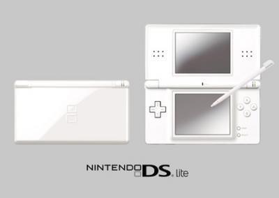 foto de la Nintendo DS Lite, consola portátil
