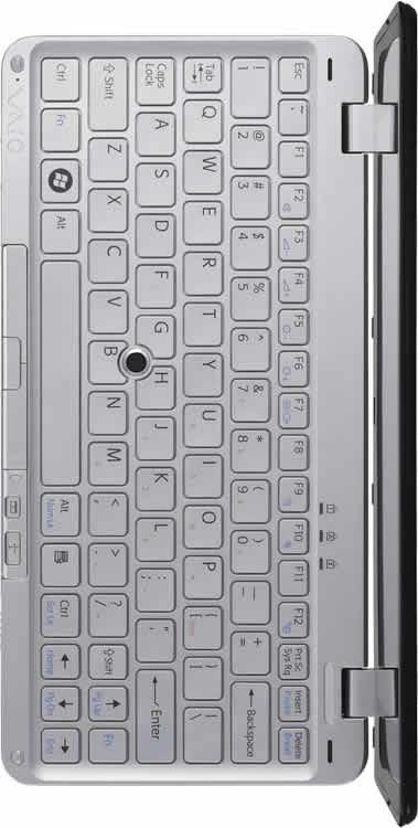 teclado del portatil Sony Vaio Serie P