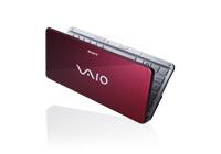 portatil Sony Vaio Serie P rojo