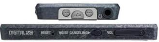 Sony Walkman NWZ-X1000 perfil serie x