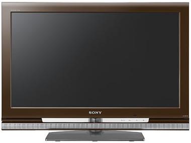 Televisor Sony Bravia KLV 32V400A LCD color marron 32 pulgadas