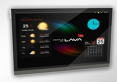televisor Scandinavia People of Lava con Android y conexin a internet