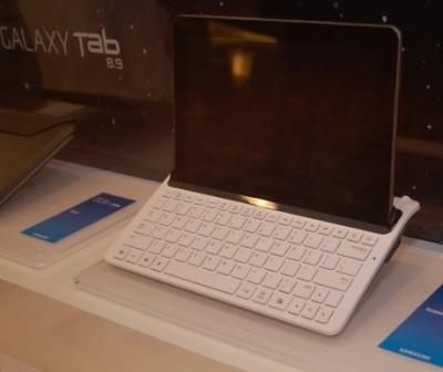 galaxy tab 8.9 teclado dock