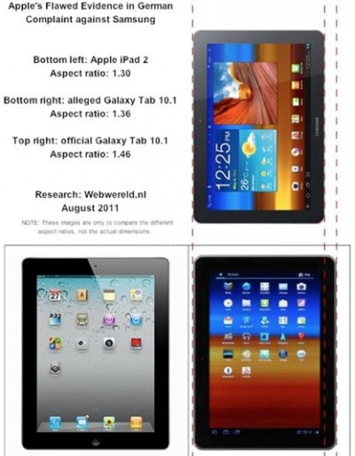 apple ipad samsung galaxy tab