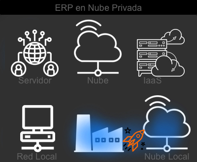 Implantar ERP en nube privada