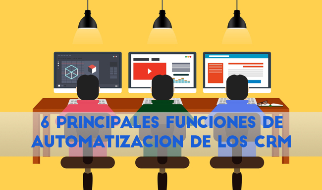 funciones de automatizacion de marketing en CRM