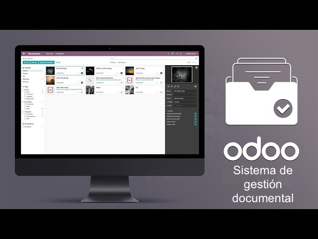 Sistema de gestión documental Odoo ERP