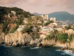La Quebrada Acapulco Mexico foto
