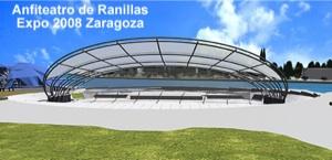 Conciertos y espectáculos gratis Expo Zaragoza 2008, en el anfiteatro de Ranillas
