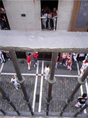 Entradas para ver el Encierro San Fermin de Pamplona en Balcon Estafeta
