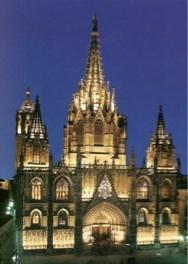 Foto de la Catedral de Barcelona, España