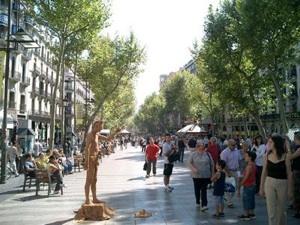 Foto de La Rambla de Barcelona, España