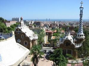 Foto del Parque Guell de Barcelona, España
