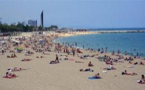 Foto de las playas de Barcelona, España