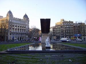 Foto de La Plaza de Cataluña, Barcelona, España