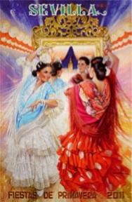 Cartel de Feria de Abril de Sevilla 2011, programa, fiestas y toros