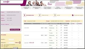 comprar un billete de tren en Renfe en internet en sitio web