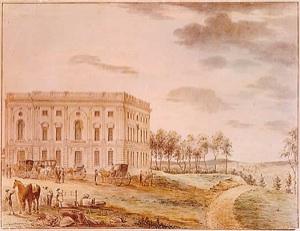 El Capitolio en 1800