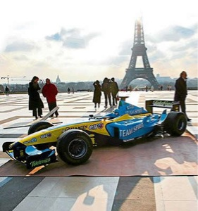 Gran Premio de Formula 1 en Disneyland Resort Paris o en la ciudad de Paris