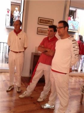 San Fermin 2011 de Pamplona en Balcon Estafeta