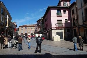 Foto del Barrio Húmedo, León