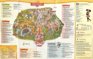 Mapa De Disneyland Paris Para Imprimir.Mapa De Disneyland Paris Plano De Zonas Y Mapa Satelital De