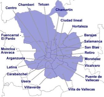 Mapas de Madrid calles itinerarios metro y feria IFEMA  Viajes
