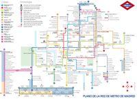 Mapa del Metro de Madrid