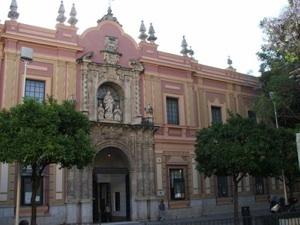 Foto del Museo de Bellas artes de Sevilla