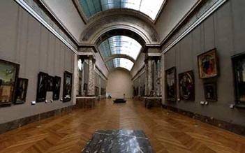 Museo del Louvre de París donde esta la Mona Lisa de Leonardo Da Vinci